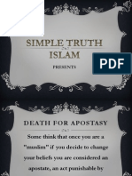 1. Death for Apostasy
