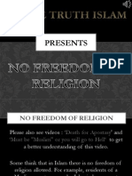 4. Freedom of Religion