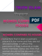 5. Women Confined to Houses