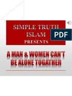 8. Man & Women Can't Be Alone Togather