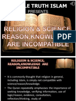 9. Religion and Science Incompatible
