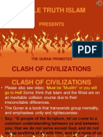 11. Quran Promotes Clash of Civilizations