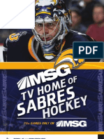 2008-2009 Buffalo Sabres Media Guide Personal
