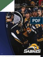 2008-2009 Buffalo Sabres Media Guide Players