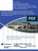 Retail / Office Building For Sale in Southwest Las Vegas at the corner of Russell Road and Jones Boulevard - 11,087 sq/ft