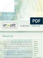 Exalt Company Profile