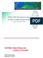 UCP 600 Changes[1]