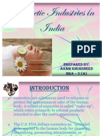 pestle analysis for cosmetic industry