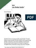 Gampangnya Menerbitkan Buku Indie