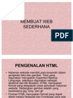 Membuat Web Sederhana Xi