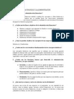 Preguntas para el 1er Examen Parcial de Finanzas | Tema 3 y 4