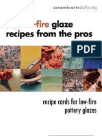 15 Low Fire Glaze Recipes