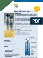 Filtry Water and More Bestmax Premium brožurka
