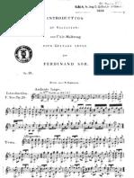 Fernando Sor, Op.28 - Variations Sur l'Air Malbroug