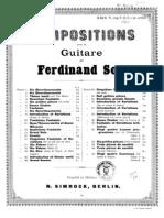 Fernando Sor, Op.31 - Vingt Quatre Exercices Livre II