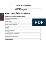 Cable User Guide