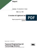 A Review of Lightcem Technology