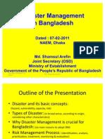 Disaster Management in Bangladesh Presentation