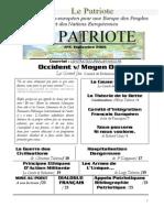 Le Patriote -Journal- nº4, Septembre 2005