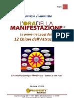 Tre Leggi L Ora Della Manifestazione Ed.1 2008