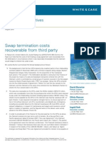 Alert Derivatives Swap Terminations Costs
