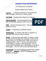 Common Computer Terms and Definitions Copy