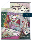 An Encyclopedia of CrazQuilt Stitches and Motifs
