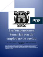 Decision Del Supremo Suspension Sumaria de Empleo No de Sueldo.1