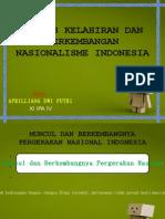 Proses Kelahiran Dan an Nasionalisme Indonesia -- a d p