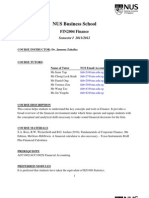 FIN2004 Full Syllabus Fall 2011