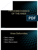 Pa Tho Mechanics of Knee Joint