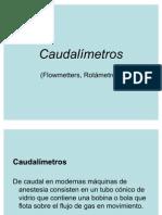 Caudalímetros