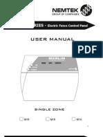 Merlin M1x Keypad User Manual