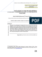 PDF the Contract of Bay Al Salam and Istisna in Islamic Commercial