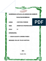 Beneficios Penitenciarios en El Peru_cesar Carrera