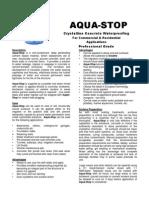 Aqua Stop+TDS+25kg+Tub