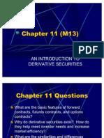 M14 - Derivatives