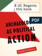 Arqueologia Como Accion Politica