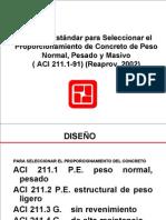 2. Norma ACI 211.1