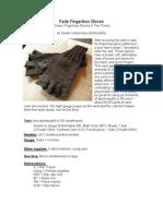 Fade Finger Less Gloves