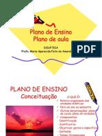 O plano de aula