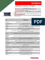 Brochure Satellite M30 853