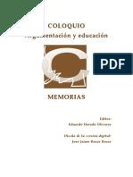 Eduardo Harada.- Argumentar en el bachillerato mexicano