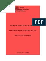 Orientaciones didácticas para la enseñanza de la división en los primeros años
