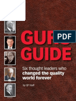 Guru Guide Six thought leaders who changed the quality world forever