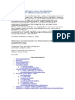 OSHA Mobile Crane Inspection Guidelines