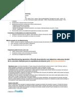 Notiuni de Baza Pentru Lean Manufacturing
