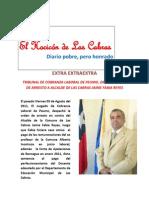 Especial Del Hocicon Con La Orden de Arresto Alcalde de Las Cabras.