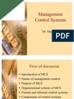 Management Control Systems Set A