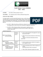 5th Grade Science Course Syllabus 2011_2012